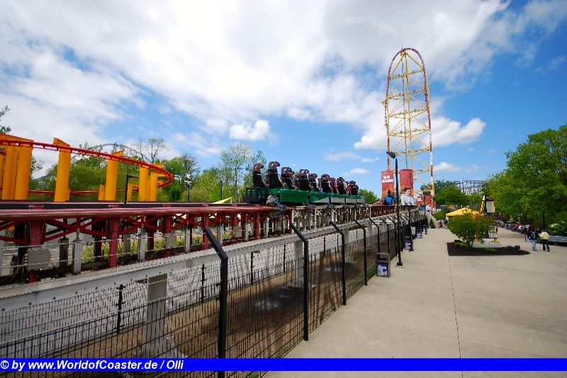 Top Thrill Dragster @ Cedar Point