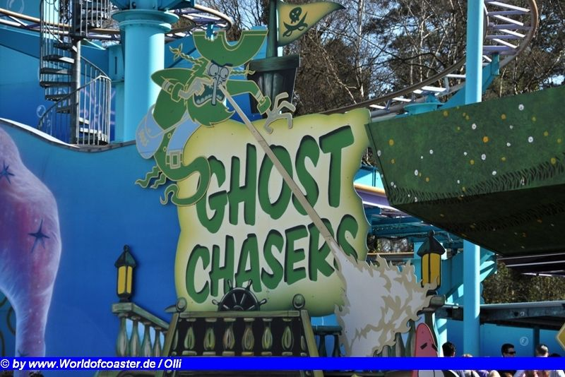 Ghost Chaser @ Movie Park Germany