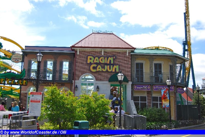 Ragin´ Cajun @ Six Flags Great America