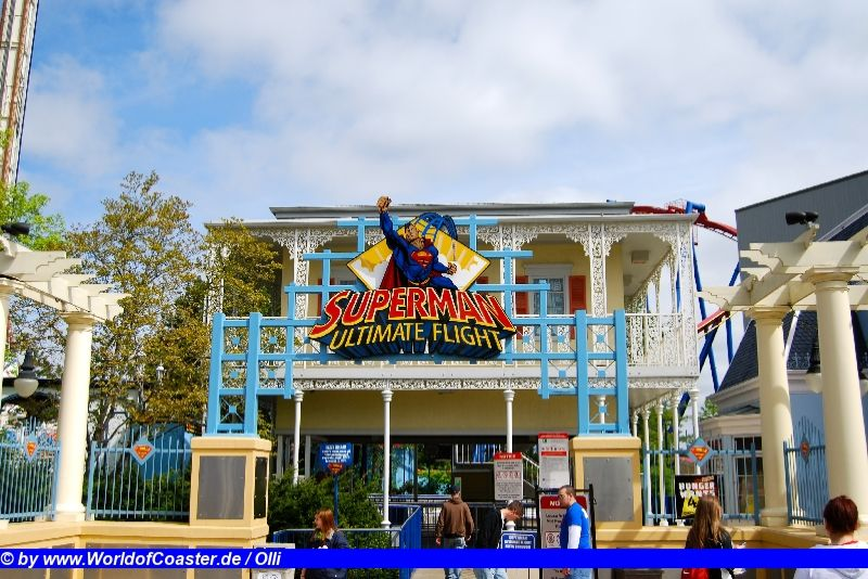 Superman Ultimate Flight @ Six Flags Great America