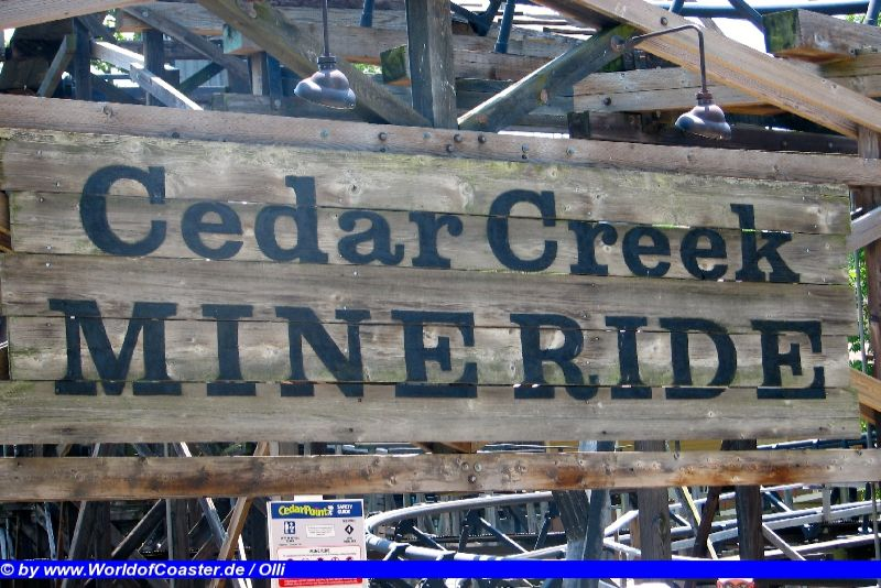 Cedar Creek Mine Ride @ Cedar Point