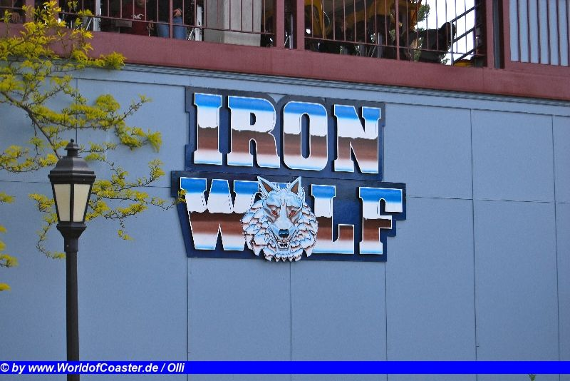 Iron Wolf @ Six Flags Great America