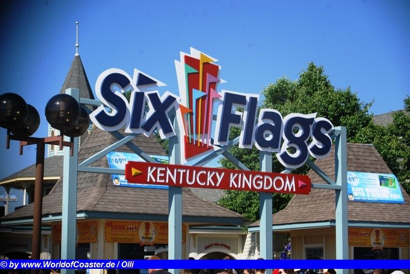 Six Flags Kentucky Kingdom