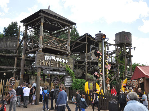 Runaway Mine Train @ Alton Towers