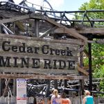 Cedar Point - Cedar Creek Mine Ride - 004
