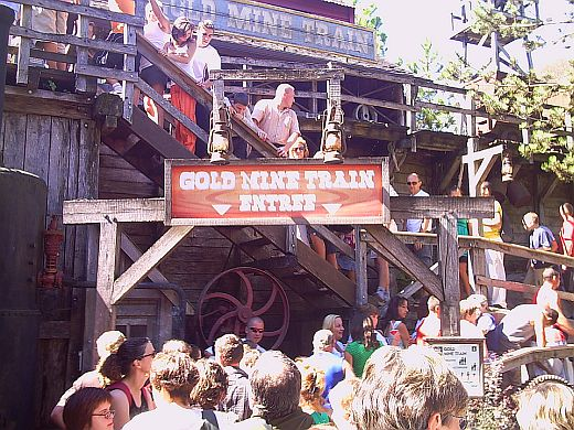 Gold Mine Train @ Nigloland