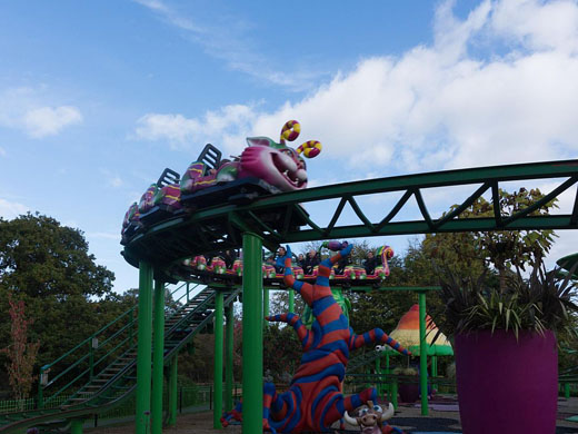 Cat-o-Pillar Coaster @ Paultons Park