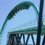 Six Flags Magic Mountain - Riddlers Revenge - 009